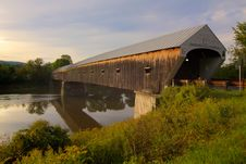 Free Covered Bridge Stock Photos - 21095673