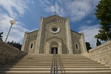 Broad Stairs Of Parish Church Of Our Lady Of Rosar Royalty Free Stock Photography