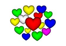 Free Heart Stock Photography - 21096722