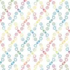 Free Seamless Polka Dots Pattern Stock Photo - 21097880