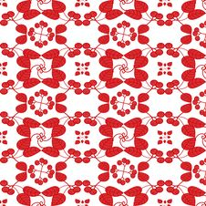 Free Seamless Floral Pattern Royalty Free Stock Images - 21097919