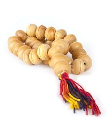 Free Wooden Prayer Beads Royalty Free Stock Image - 21098396