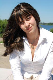 Free Beautiful Woman, Brunette Royalty Free Stock Photography - 21098397