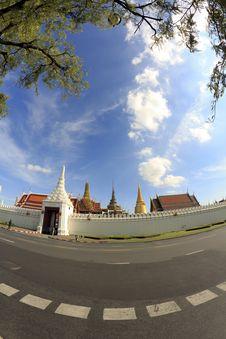 Free Ancient Bangkok Thailand Grand Palace Royalty Free Stock Images - 21099289