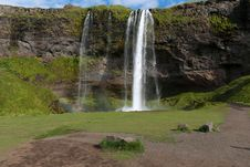 Free Waterfall In Iceland Royalty Free Stock Photo - 21099325