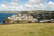 Free Port Isaac In Cornwall Royalty Free Stock Image - 21099386