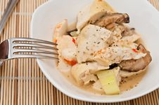Free Mixed Seafood Cuisine Stock Photos - 21099463