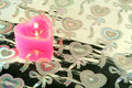 Free Candle In The Form Of Heart Stock Photo - 2115890