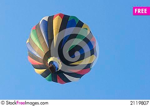 Free Hot Air Balloon Royalty Free Stock Photography - 2119807