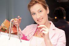 Free Happy Shopping Woman Stock Photos - 2110183