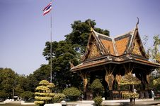 Traditional Thai Building Stock Photography