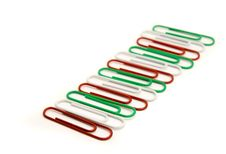 Free Paperclips Royalty Free Stock Photos - 2111848