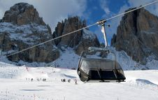 Free Chairlift Sellaronda Stock Photos - 2112083