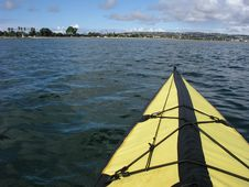 Free Kayaking Mission Bay, California Stock Photos - 2112793