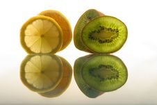 Free Kiwi And Lemon Stock Image - 2112891