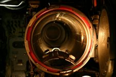 Free Submarine Torpedo Gun Stock Photography - 2113302