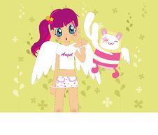 Free Cutie Girl Stock Image - 2114651