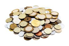 Free Heaps Of Coins Stock Photos - 2115033
