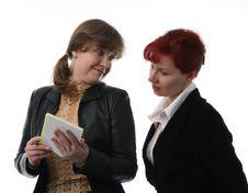 Free Two Businesswomen Stock Photo - 2115160