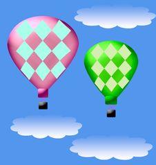 Free Hot Air Balloon Stock Photo - 2115170