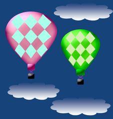 Free Hot Air Balloon Stock Image - 2115171