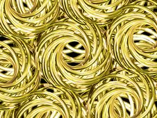 Free Yellow Rolls Royalty Free Stock Photo - 2115245