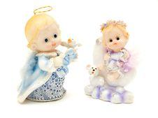 Free Dollish Angels Royalty Free Stock Photo - 2115485