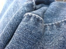 Free Blue Jeans Royalty Free Stock Photography - 2115837