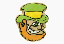 Free Leprechaun Cookie Royalty Free Stock Photos - 2117378