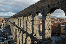 Free Roman Water-conduit Stock Image - 2118101