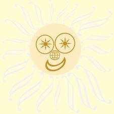 Free Desert Sun Royalty Free Stock Photo - 2118765