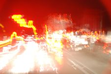 Free Lights On A Highway Royalty Free Stock Images - 2119669