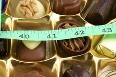 Free Quality Chocolates And Tape Stock Photography - 2119782