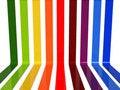 Free 3d Rainbow Lines Royalty Free Stock Photos - 21100598