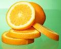 Free Orange And Orange Slices Stock Photography - 21107422