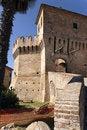 Free Castle Of Corinaldo Royalty Free Stock Photo - 21107475