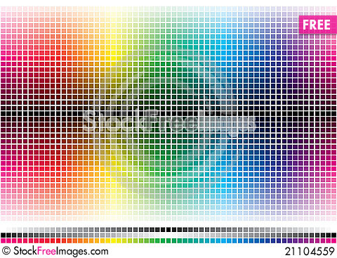 Free Color Mosaic Royalty Free Stock Images - 21104559