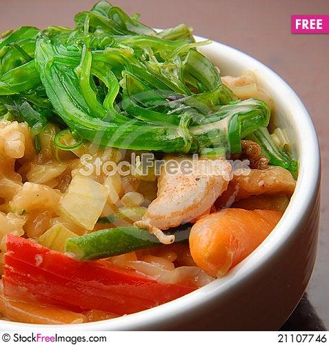Free Japanese Food Royalty Free Stock Image - 21107746
