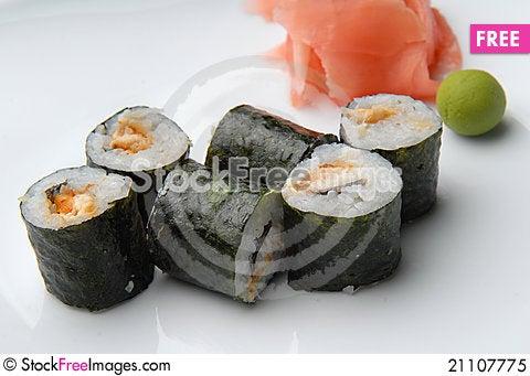 Free Japanese Food Royalty Free Stock Photo - 21107775