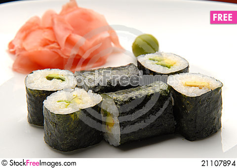 Free Japanese Food Stock Images - 21107894