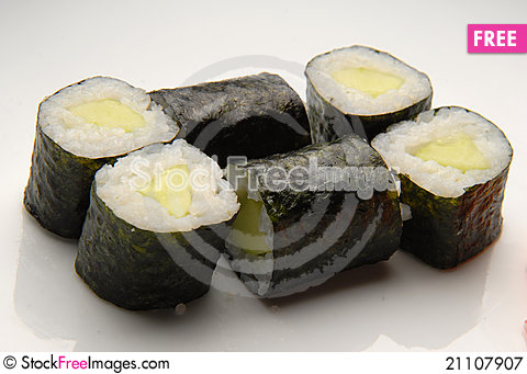 Free Japanese Food Royalty Free Stock Photography - 21107907