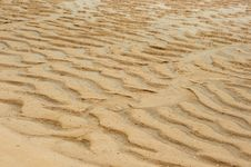 Free Sand Texture . Stock Images - 21100534