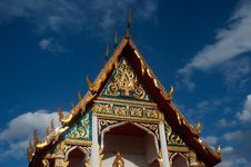 Free Thai Art At Roof Church 1. Royalty Free Stock Image - 21100756