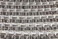 Free White Chairs Stock Image - 21101481