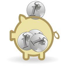 Free Piggy Bank Stock Photos - 21101843