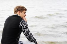 Free Resting Near The Water Royalty Free Stock Images - 21102579