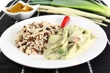 Free Green Curry Stock Photography - 21102642