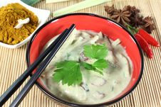 Free Green Curry Royalty Free Stock Photo - 21102675