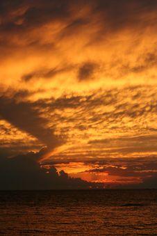 Free Lake Erie Sunset Stock Photos - 21103063