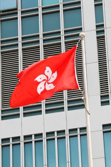 Free Hong Kong SAR Flag Stock Photo - 21103150